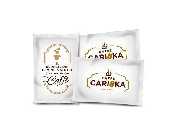 bustine zucchero bianco caffè carioka