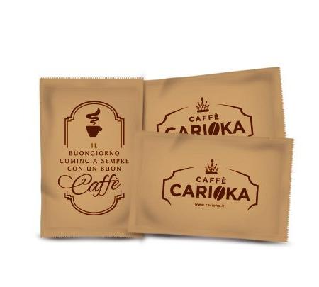 bustine zucchero di canna caffè carioka