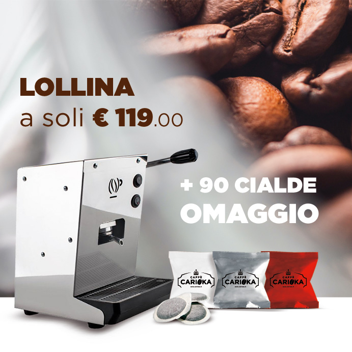 Lollina Macchina da caffè a cialde