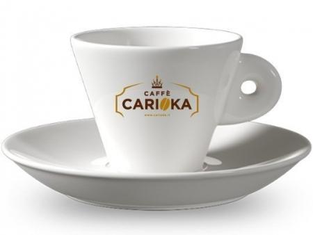 tazzone porta zucchero con logo caffè carioka