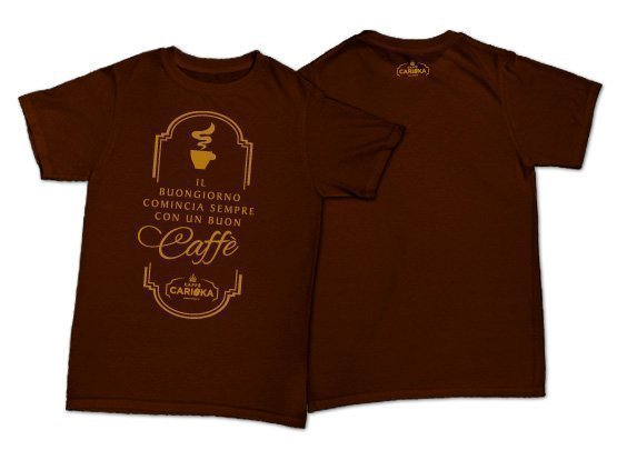 t-shirt logo carioka