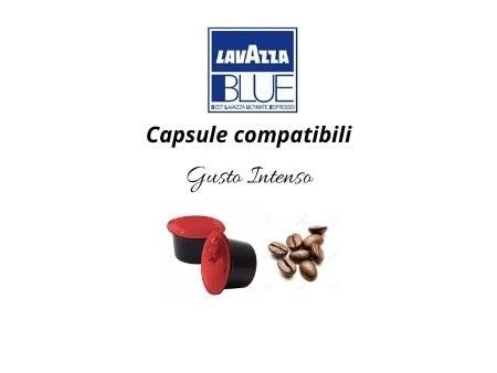 Caffè capsule compatibili LAVAZZA BLUE Gusto Intenso
