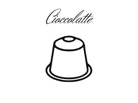 Cioccolatte capsule compatibili NESPRESSO