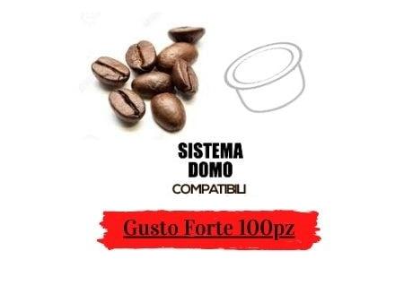 Caffè in capsule compatibili DOMO Gusto Forte