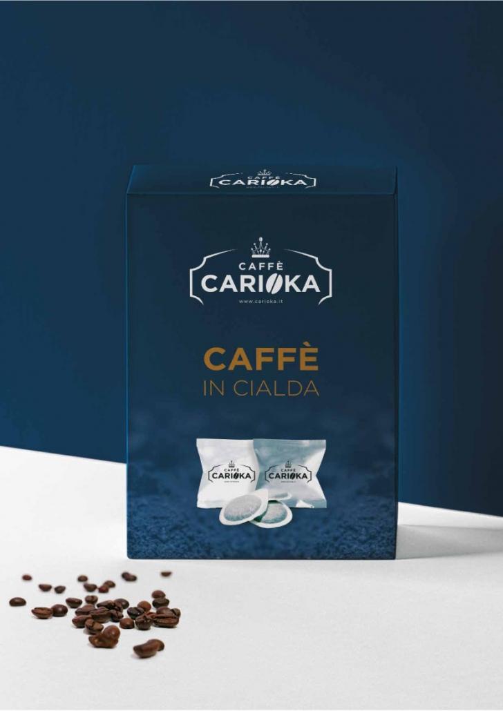 Cialde carioka caffè ESE 44 mm