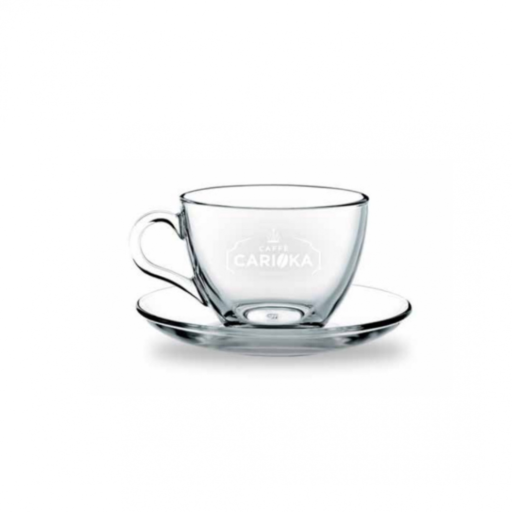 tazza da caffè in vetro carioka